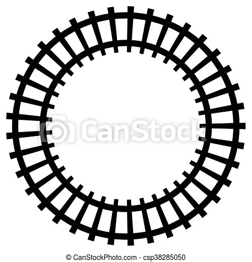 railway railroad silhouettes with distortion effect train rh canstockphoto com railroad clip art pictures clipart railroad tracks