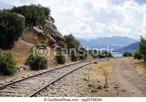 Railway - csp23758344