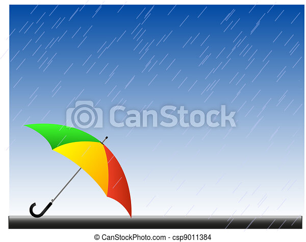 Rain background - csp9011384