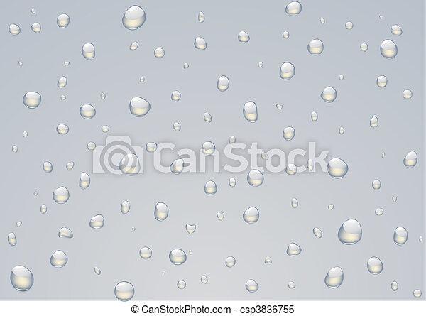 Rain drops - csp3836755