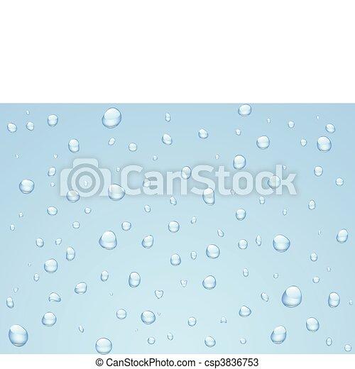 Rain drops - csp3836753