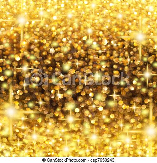 Rain of Lights Christmas - csp7650243