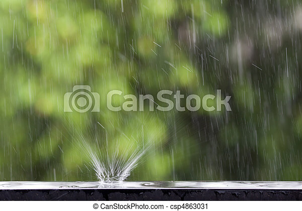 rain - csp4863031