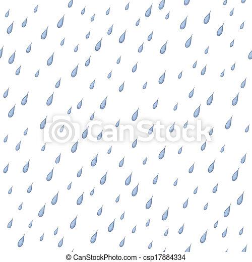 Rain, seamless background - csp17884334