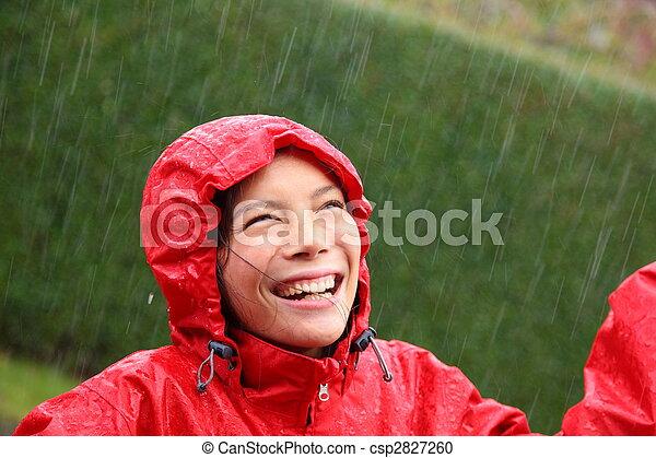 Rain woman - csp2827260