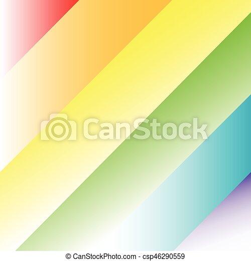 Rainbow Background - csp46290559