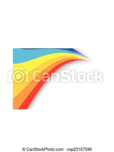 RAINBOW BACKGROUND - csp23167596