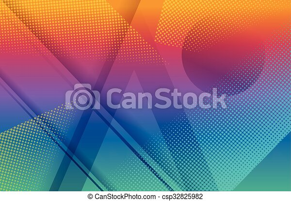 Rainbow background - csp32825982