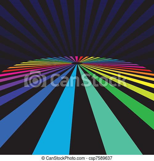 rainbow background - csp7589637