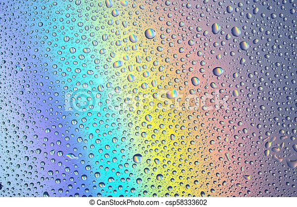 Rainbow background - csp58333602