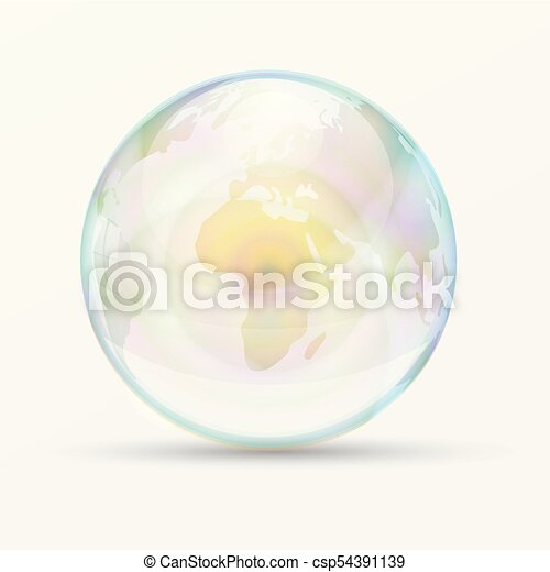 Rainbow bubble world map vector illustration transparent rainbow bubble world map vector illustration transparent drop off earth publicscrutiny Gallery