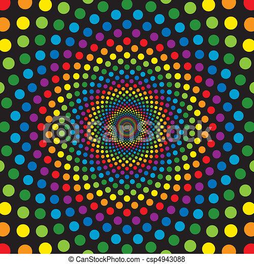 Rainbow Circles - csp4943088