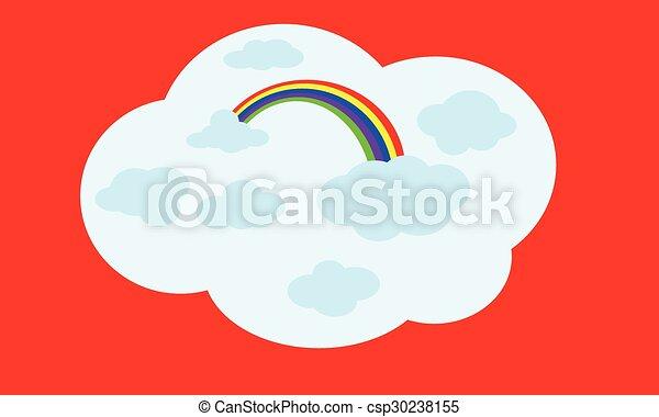 rainbow - csp30238155
