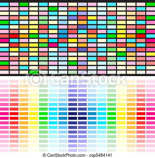 rainbow colors background - csp5484141