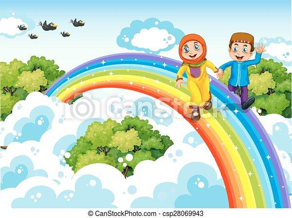 Rainbow - csp28069943