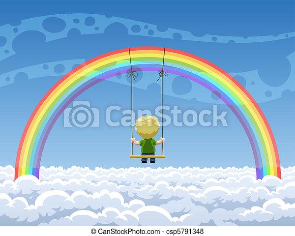 Rainbow - csp5791348