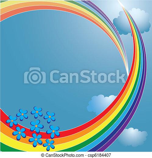 rainbow - csp6184407