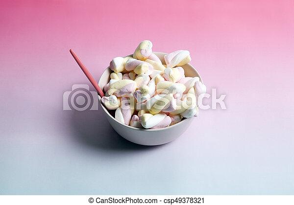 Rainbow marshmallow - csp49378321