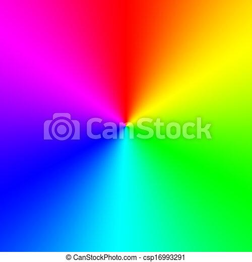 Rainbow spectral circle gradient - csp16993291