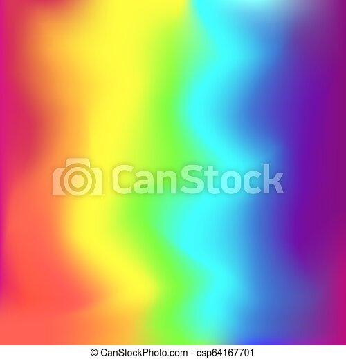 Rainbow Square Gradient Colors Background