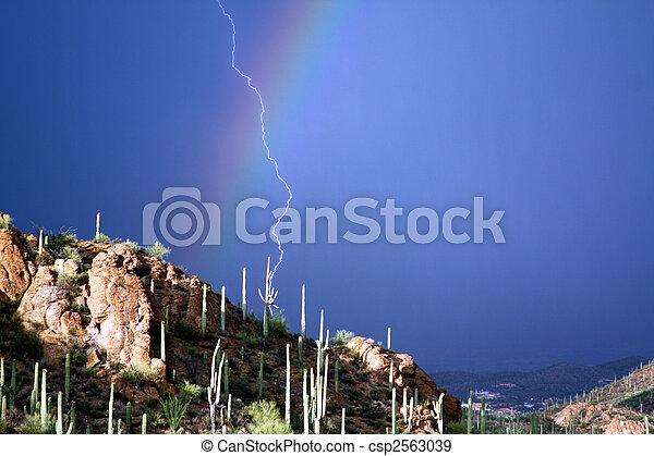 Rainbow Strike - csp2563039