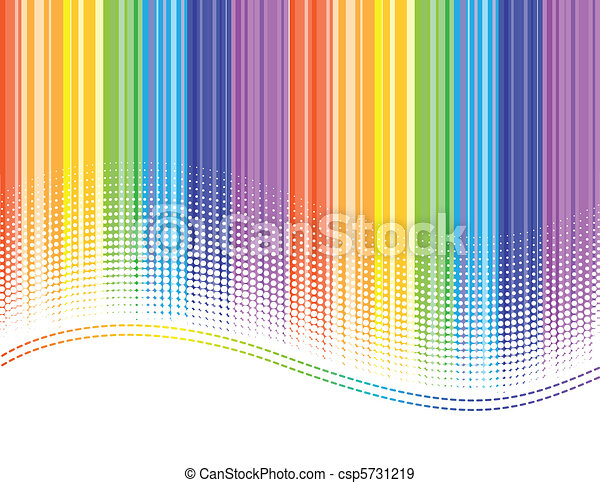 rainbow stripes - csp5731219