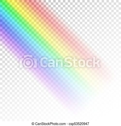 Rainbow Template Abstract Colorful Spectrum Of Light  Eps Vector