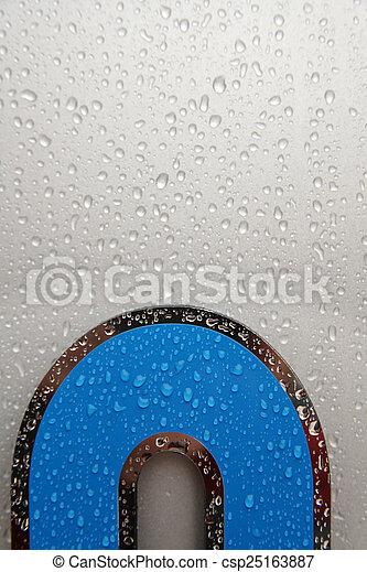 raindrop - csp25163887