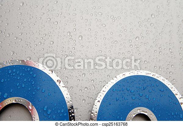 raindrop - csp25163768