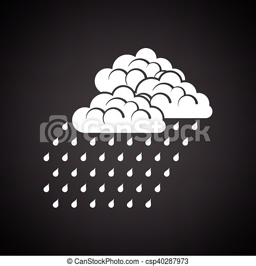 Rainfall icon - csp40287973