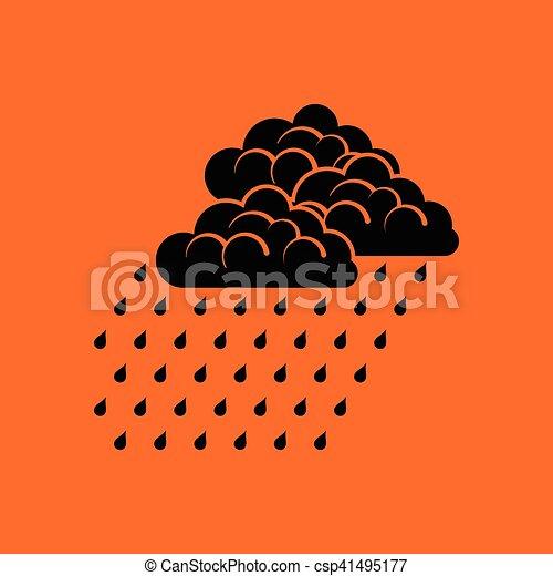 Rainfall icon - csp41495177