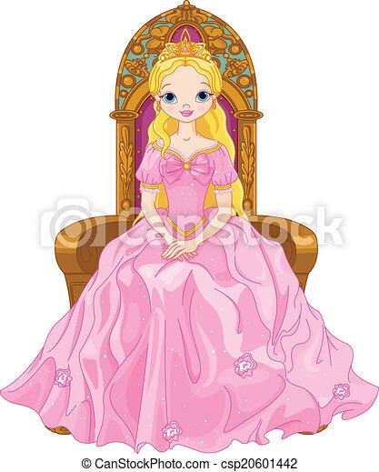 rainha, jovem - csp20601442