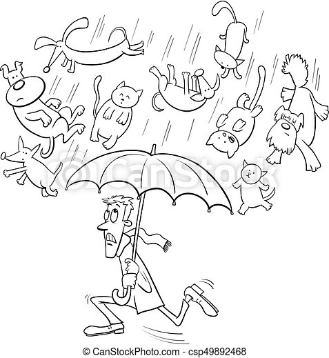Raining Cats Dogs Illustrations And Clipart 151 Raining Cats Dogs Royalty Free Illustrations Drawings And Graphics Available To Search From Thousands Of Vector Eps Clip Art Providers