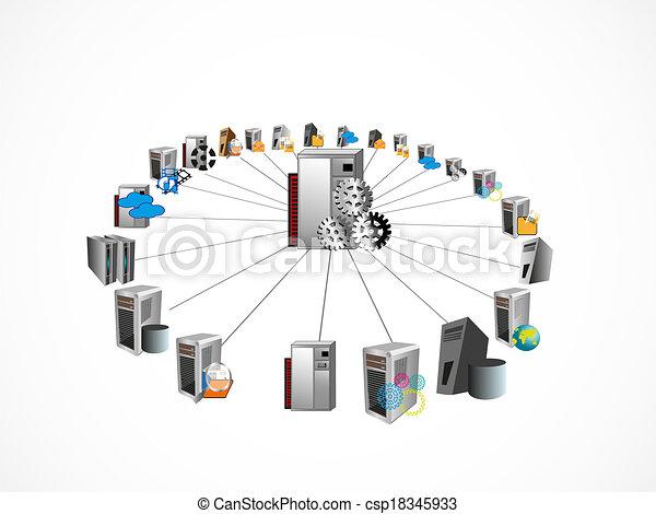 raio, cubo, integração - csp18345933