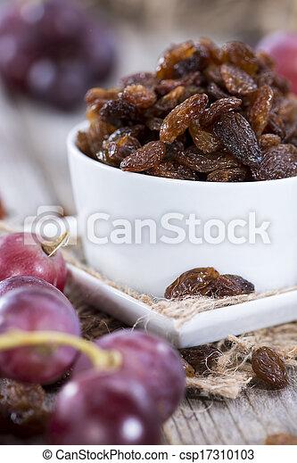 Raisins and Grapes - csp17310103