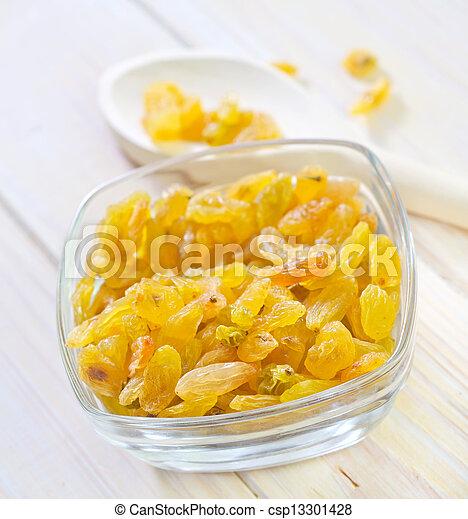 raisins - csp13301428