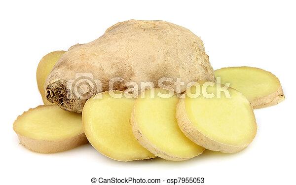 raiz, gengibre - csp7955053