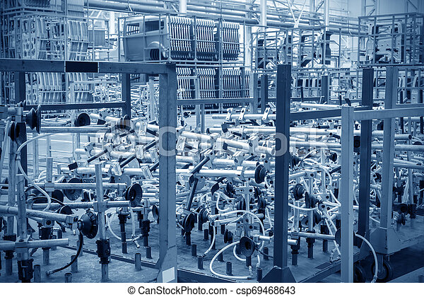 raktárépület, autó gyár - csp69468643