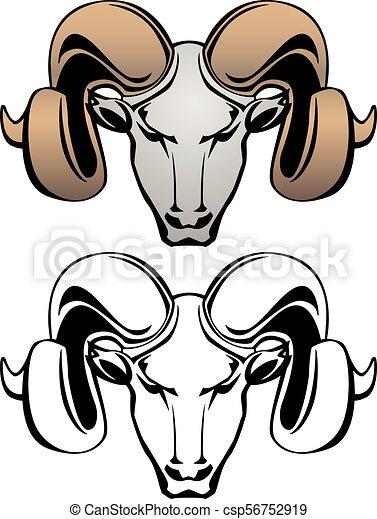 ram head vector graphic illustration rams head vector vector rh canstockphoto com ram clipart free ram head clipart