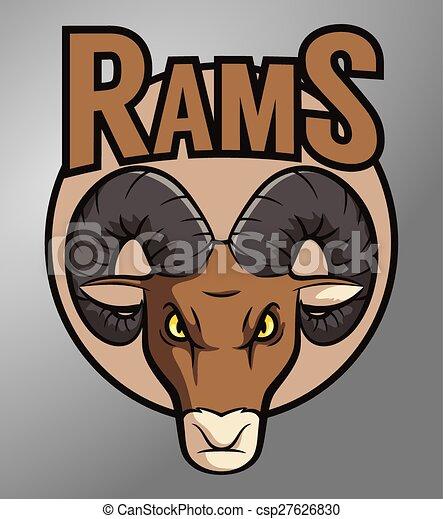 Ram mascot - csp27626830