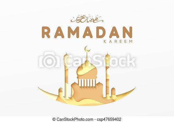 Ramadan greeting card with arabic calligraphy ramadan vector ramadan greeting card with arabic calligraphy ramadan kareem csp47659402 m4hsunfo