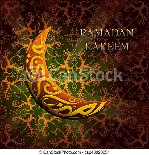 Ramadan greeting cards set ramadan greeting card design with ramadan greeting cards set csp48020254 m4hsunfo