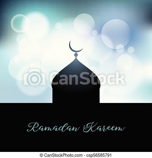 ramadan kareem background 1204 - csp56585791