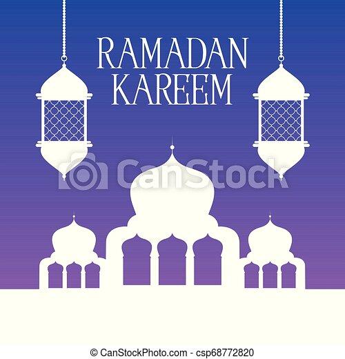 ramadan kareem background 2504 - csp68772820