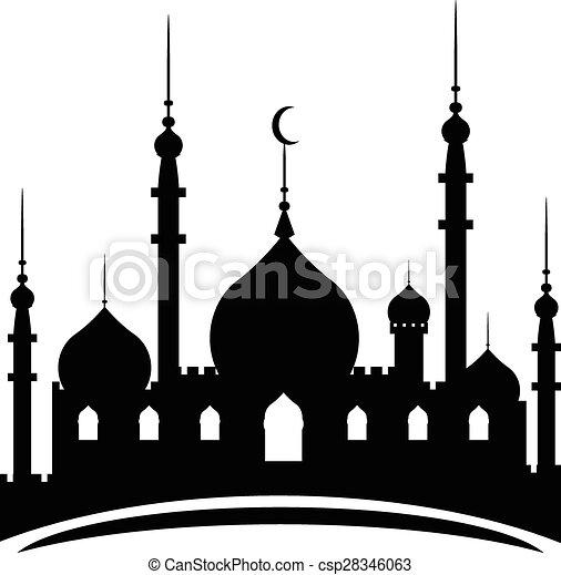 Ramadan Kareem background - csp28346063