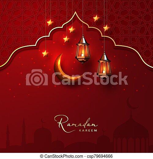 Ramadan Kareem Background - csp79694666
