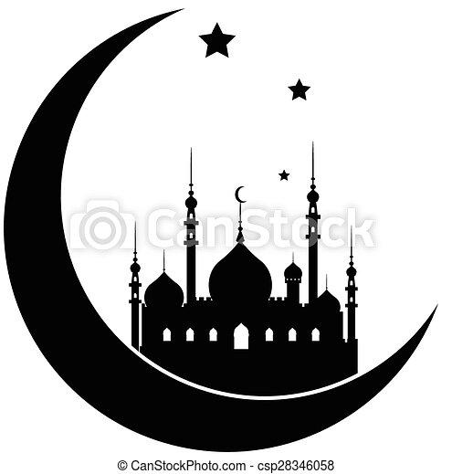 Ramadan Kareem background - csp28346058