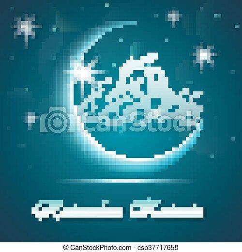 Ramadan kareem background - csp37717658
