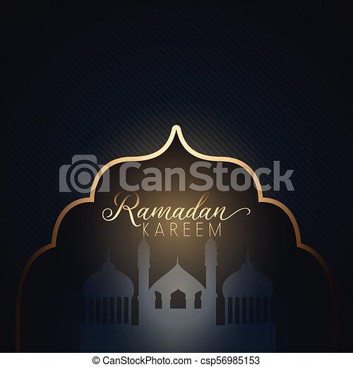 Ramadan Kareem background - csp56985153