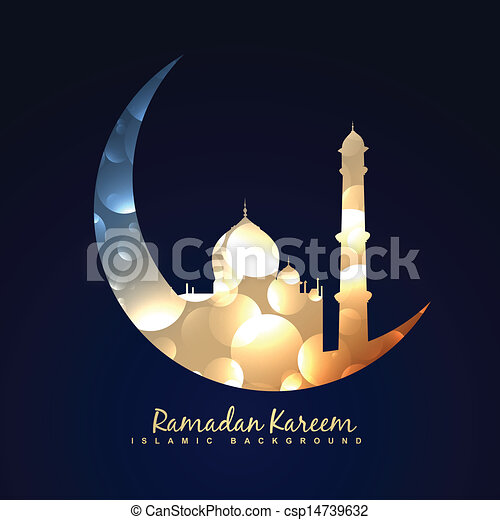 ramadan kareem background - csp14739632